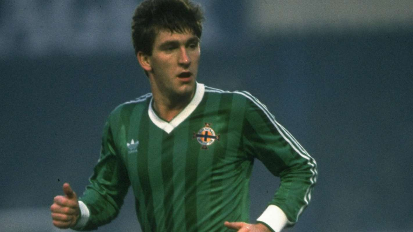 Norman Whiteside - Northern Ireland - youngest ever Fifa World Cup player at 17y 1m 10d