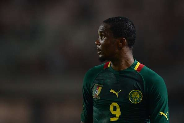 Samuel Eto'o, debut for Cameroon at 16 and Fifa World Cup representative at 17 years three months and seven days