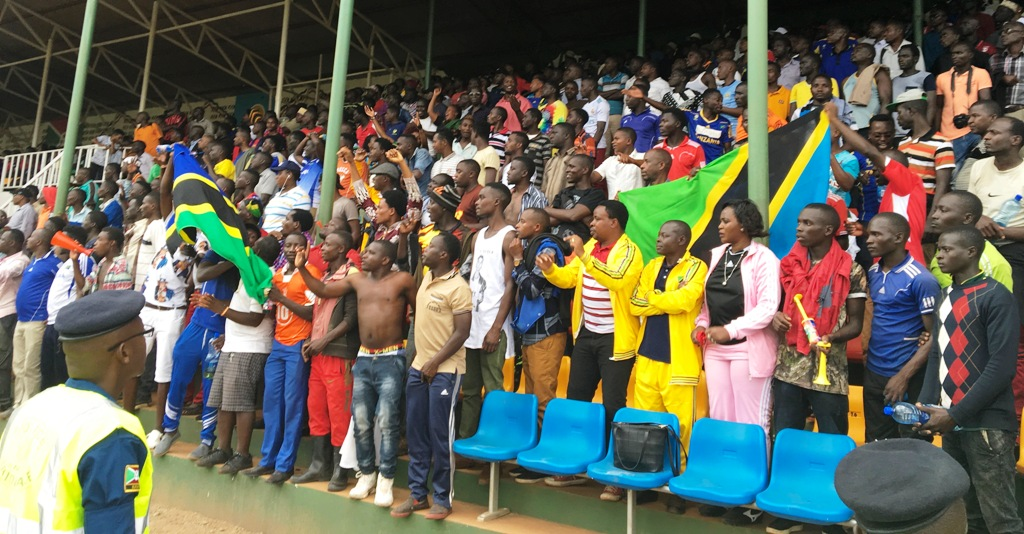 Tanzania fans who had crossed the border to Burundi to watch their U17 team at a Cecafa (council of East and Central Africa Football Associations) tournament in Muyinga, northern Burundi