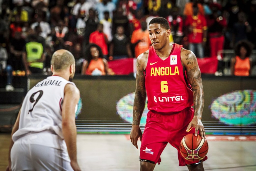 Angola (right) face Egypt in an African championship showdown
