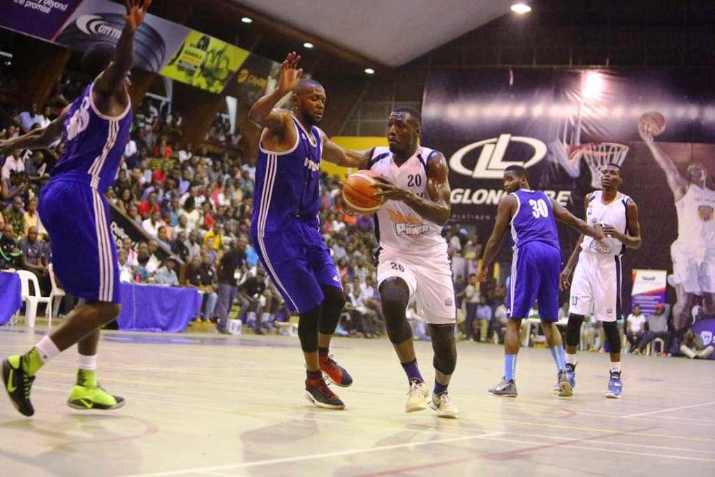 A Final in the Uganda Basketball League