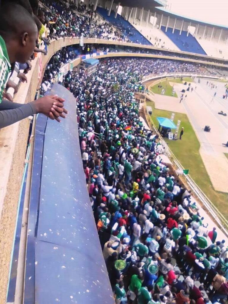 The attendance at Moi International Sports Centre got its treat -- a six-goal thriller and victory for their team, Gor Mahia -- and could be larger in their next home match on February 24 against NA Hussein Dey of Algeria