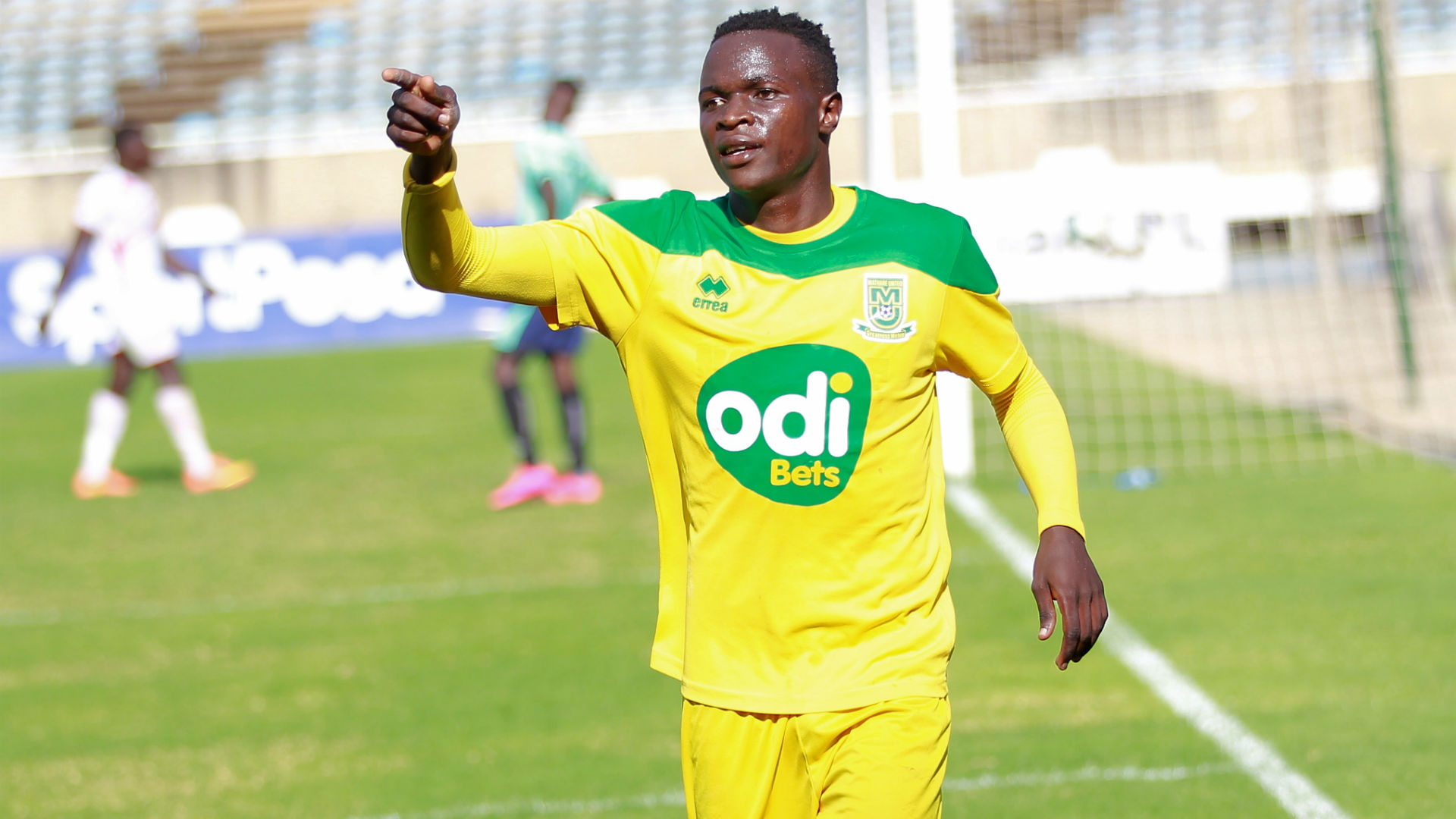 Mathare United's prolific scorer Cliff Nyakeya also in the Harambee Stars squad