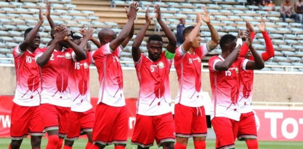Harambee Stars at home in one of the early matches of the 2019 AFCON campaign