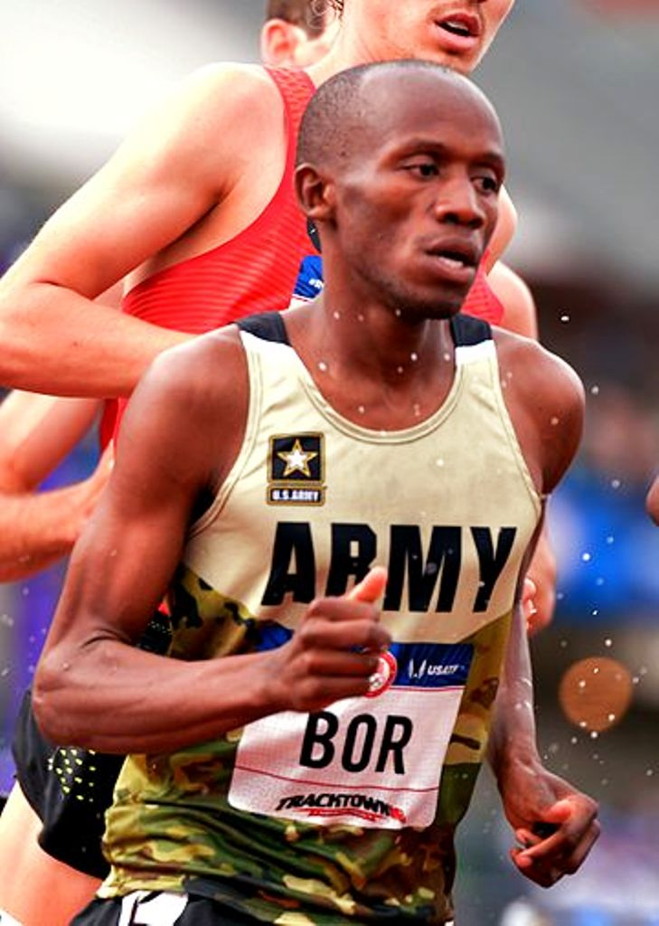 Hillary Bor of the US Army contests and gains selection for Team USA to the world cross country championships in Aarhus, Denmark
