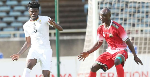 .... of Harambee Stars keeps tabs on ... of Ghana in Accra on Sunday