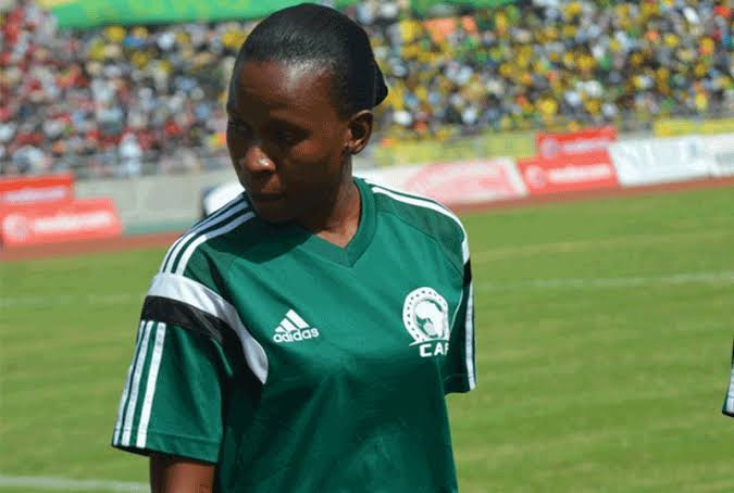 Unprecedented … three women referees will officiate at the 2019 AFCON U17 tournament in Dar es Salaam. They are, above to below; Jonesia Kabakama (Rwanda), Mary Njoroge (Kenya) Lidwine Rakotozafinoro (Madagascar)