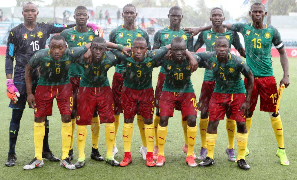 Drenched by rain at Azam Complex, Chamazi before their match with ...., Cameroon were not dampened and went on to qualify for only their second appearance at the U17 FIFA World Cup