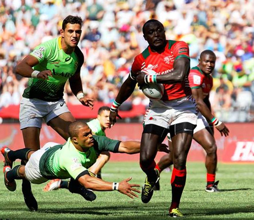 Collins Injera breaks out of the attention of the South Africans