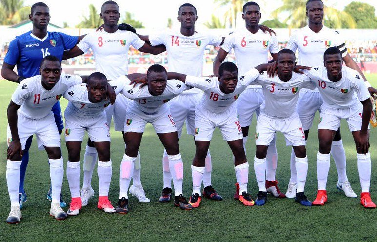 Guinea ... ousted Nigeria in the semis and face Cameroon in the Final tomorrow (Sunday)
