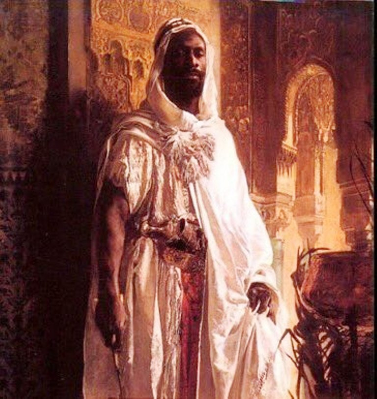 African Moors – North Africa Berbers and other peoples – conquered Spain and ruled it for 700 years and were responsible for bringing Europe out of the dark ages. The Great Mosque of Córdoba from their era is still one of the architectural wonders of the world in spite of later Spanish disfigurements