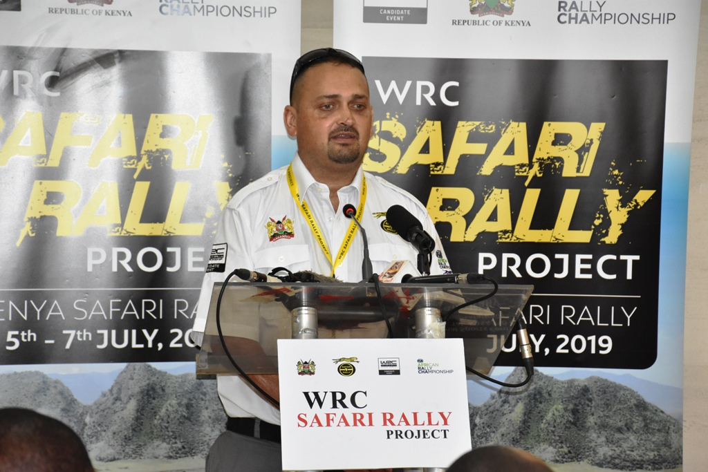 Clerk of the Course Gurvir Babra ... Michelle Mouton will be driven over all his route in Naivasha and at Kasarani circuit