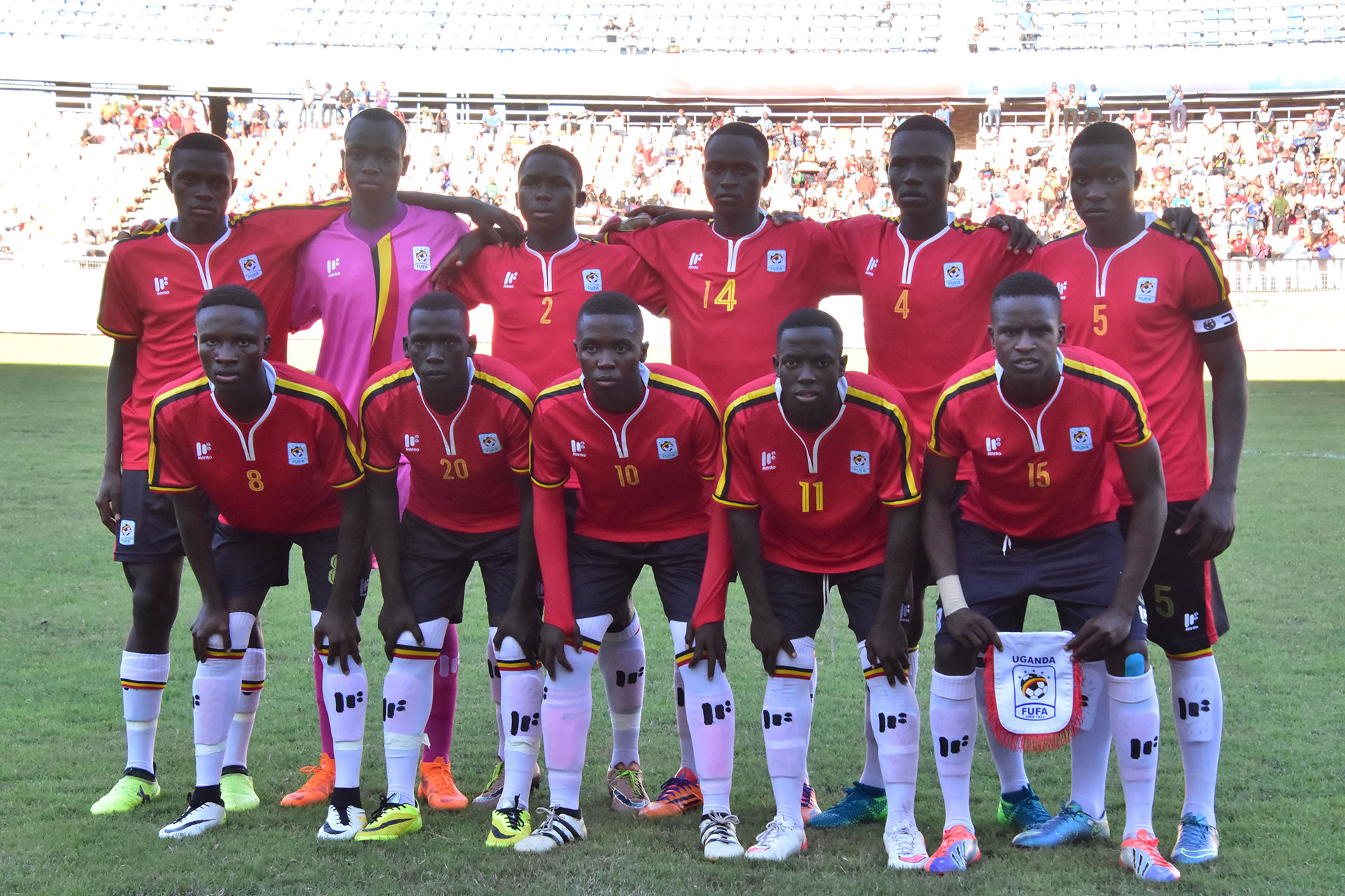 Uganda, winners over Tanzania on Wednesday have Nigeria on Sunday, between them and a first appearance in the U17 FIFA World Cup