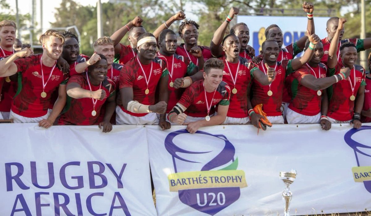 Kenya at Kenya Commercial Bank ground, Nairobi on Saturday ....The Barthes Cup 2019 and a place in the 2019 World Rugby Under 20 Trophy tournament in Brazil