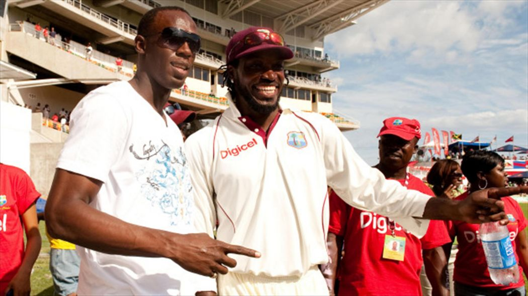Bosom buddies Chris Gayle and Usain Bolt (left) have drawn on every ounce of natural talent bestowed upon them and entertained the world richly