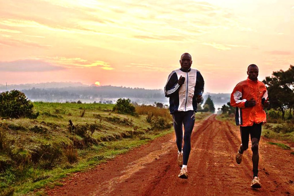 Above, below: The breathtaking quiet stretches ideal for running, all-year-round in Iten