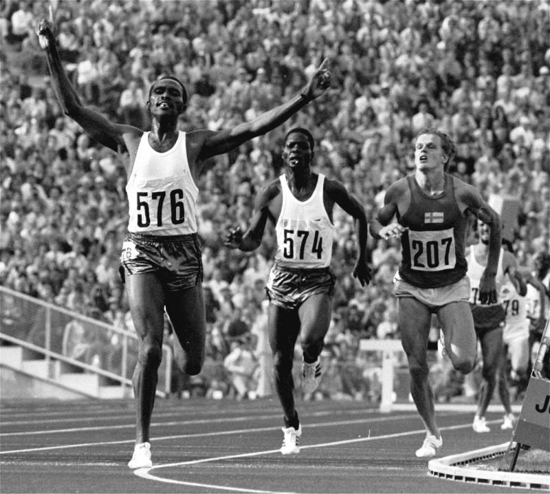 Sportsmen going into the unconventional is not new. Kenya's legendary Kipchoge Keino, here leading compatriot Ben Jipcho to a 1-2 in the 3,000m steeplechase in the 1972 Olympics in Munich, was in 1973 one of the leading lights in a hitherto unknown professional running era initiated by Australian media mogul Kerry Parker