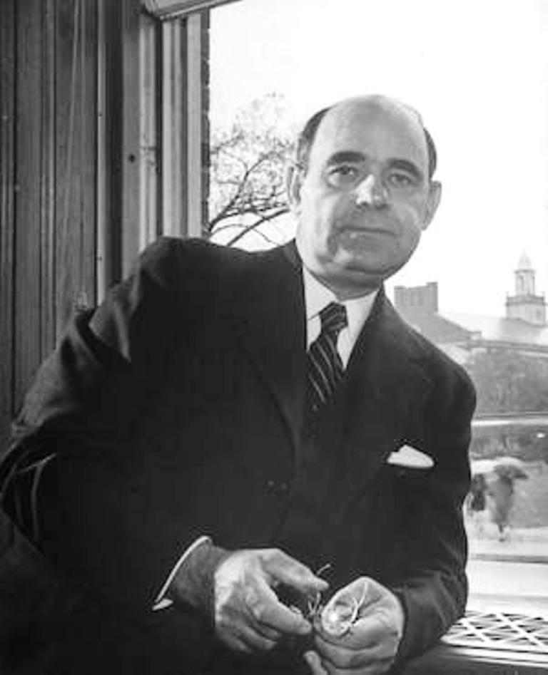 Dr Mordecai Wyatt Johnson, President of Howard for 39 years, from 1926