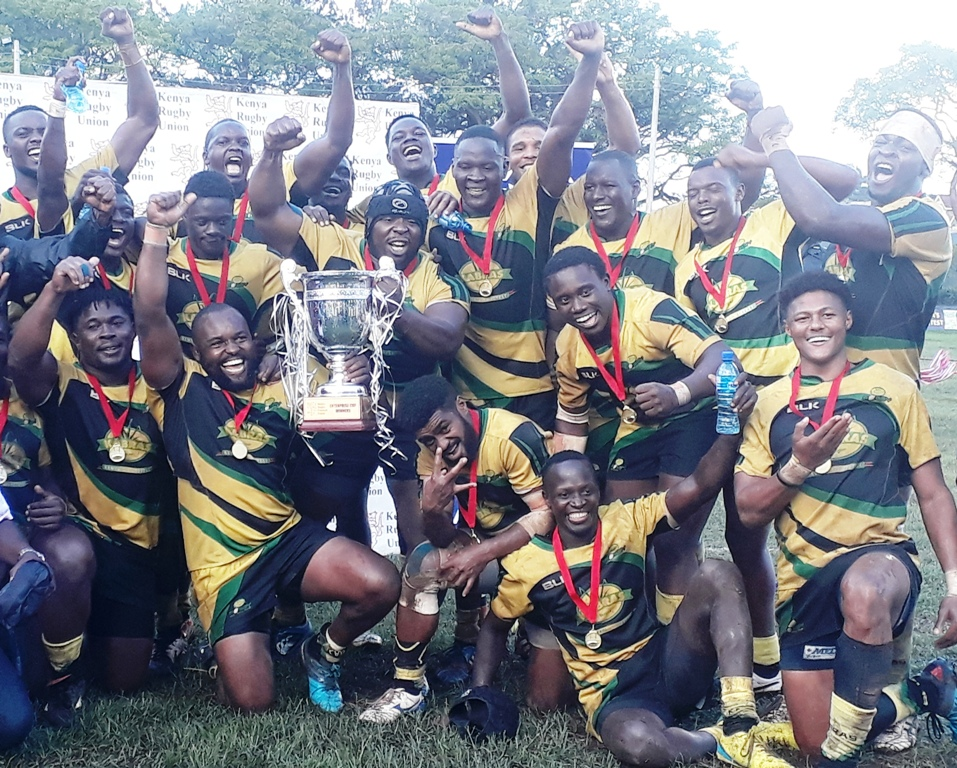 After coming close before, Kabras Sugar finally lift their first Enterprise Cup at the Rugby Football Union of East Africa on Saturday