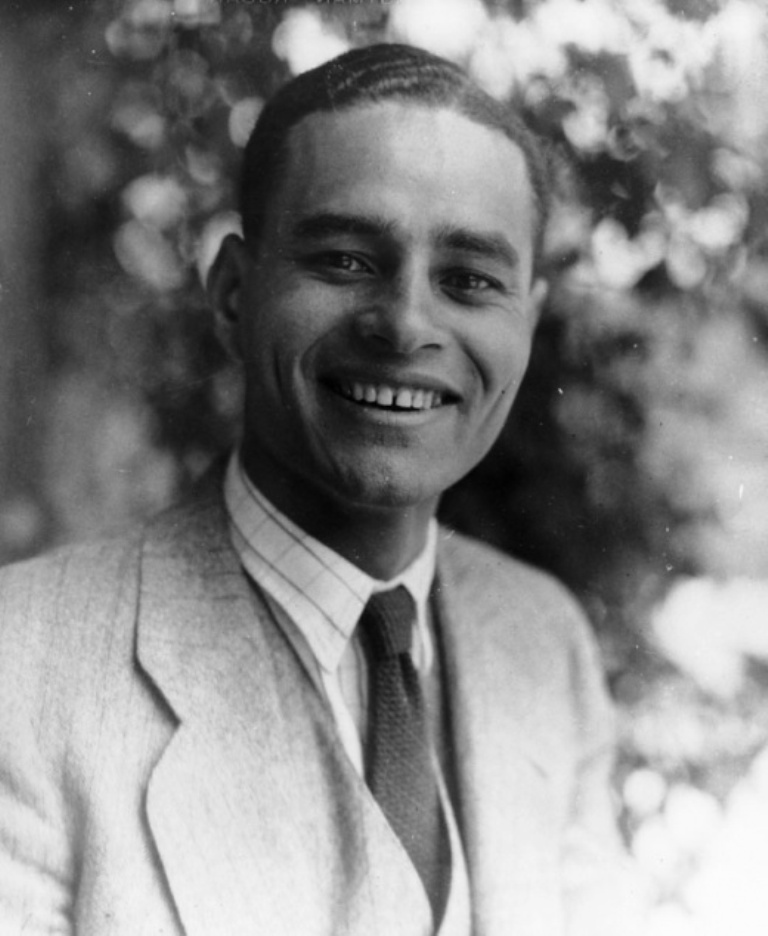 Ralph Bunche, professor of political science and later a Nobel Laureate