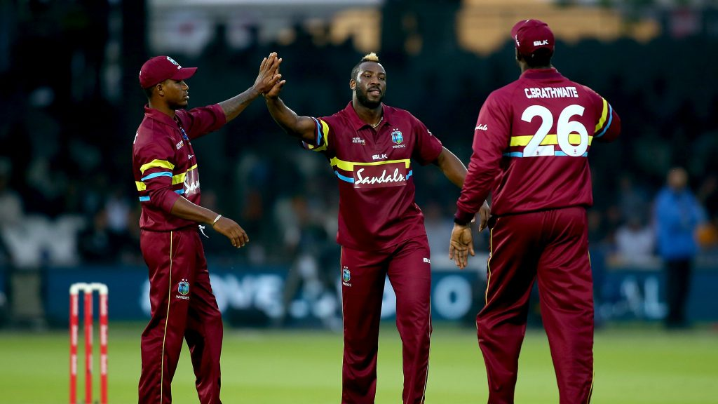 The most complete all-rounder in the game today, Andre Russel (centre) continues to defy physical logic every week, winning and defining matches with bat, ball, fielding feats and sheer personality