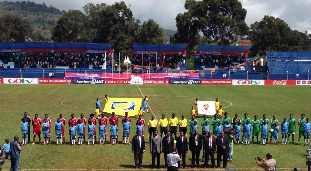 Kenyatta Stadium, Machakos hosts a Cecafa Challenge Cup, 2017 soccer match