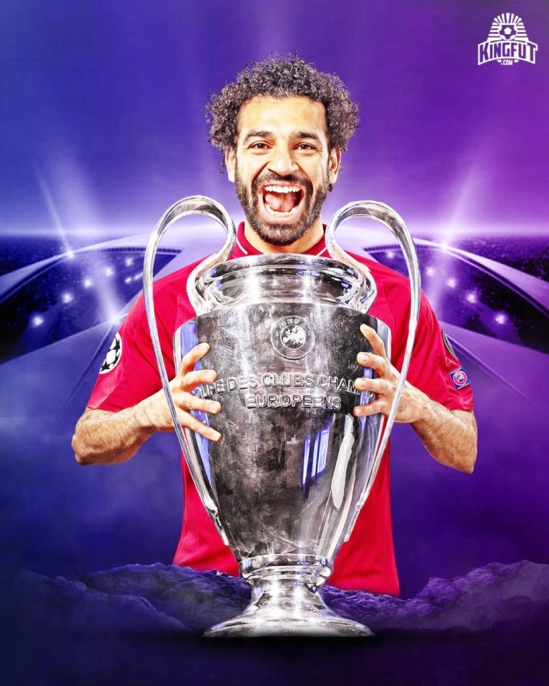 Relishing the Liverpool moment greatness ... Mohammed Salah who will lead hosts Egypt in 2019 AFCON