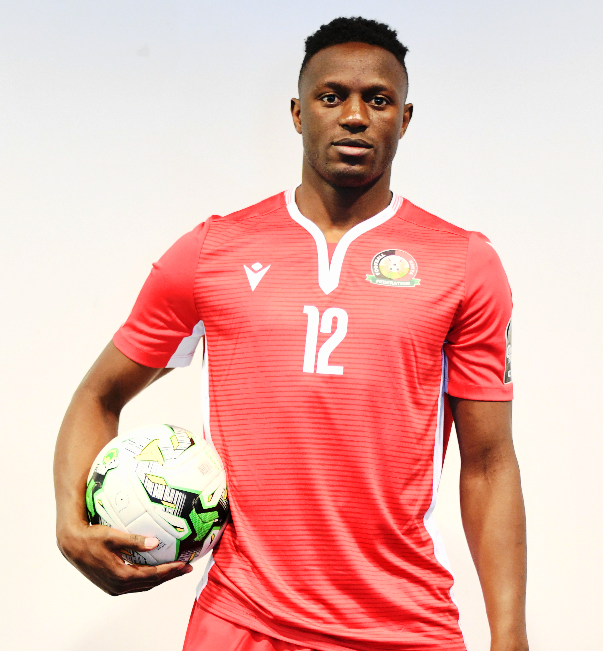 Kenya captain Victor Wanyama all set to lead out his men against Algeria in Cairo on Sunday