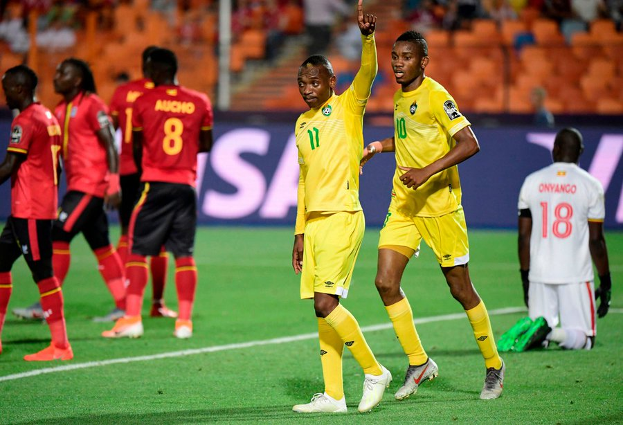 Khama Billiat, scored for Zimbabwe and throughout the match was as brilliant as ever