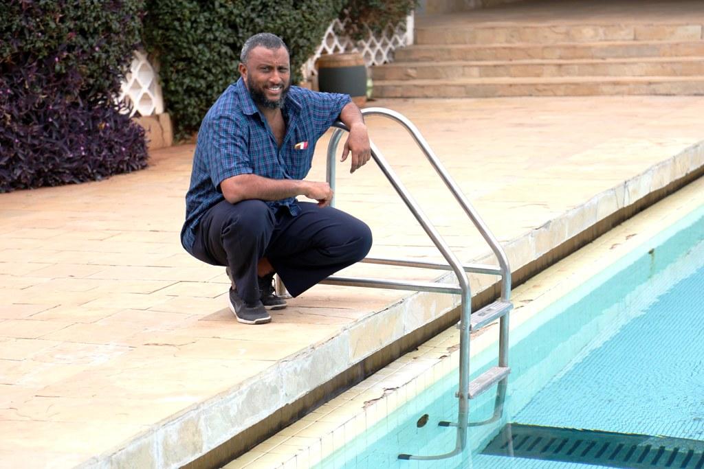 Fakhry Al Mamry: Head coach Team Kenya Swimming