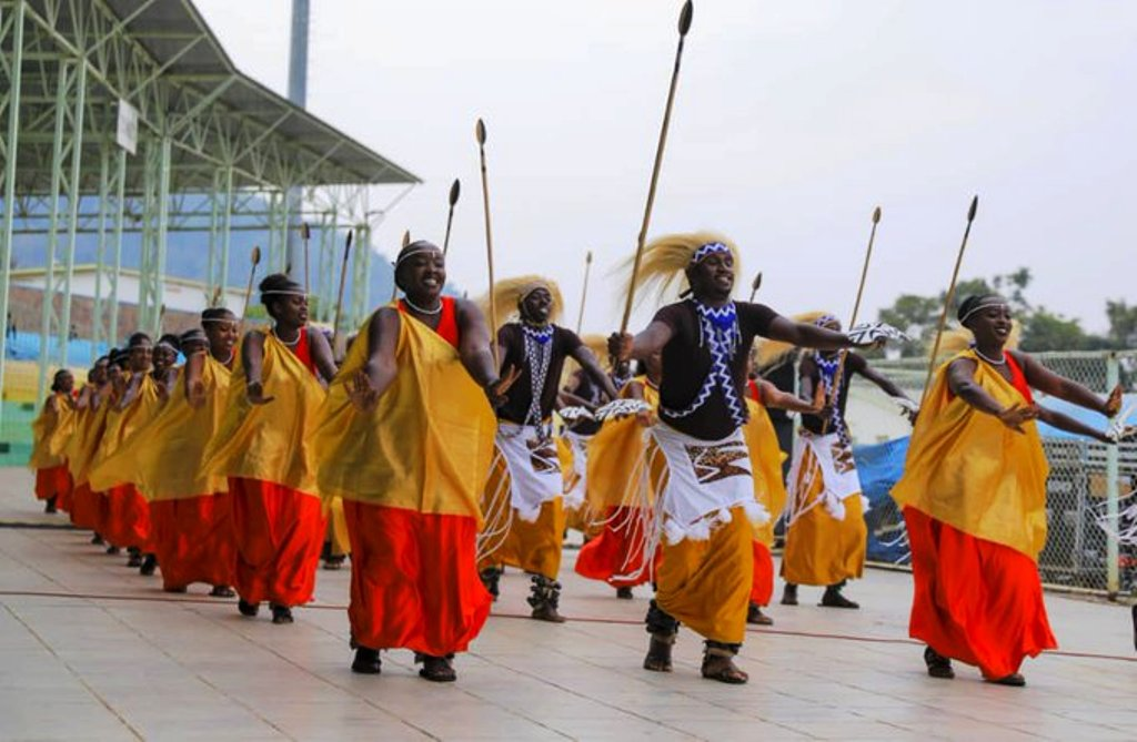 This was during the opening ceremony for the 2019 Cecafa Kagame Cup tournament at Stade de Kigali in Nyamirambo on July 7. The competition enters quarter-final stage on Tuesday