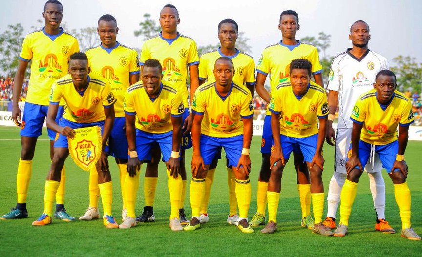 The KCCA starters against Azam in Sunday's Cecafa Kagame Cup Final in Kigali