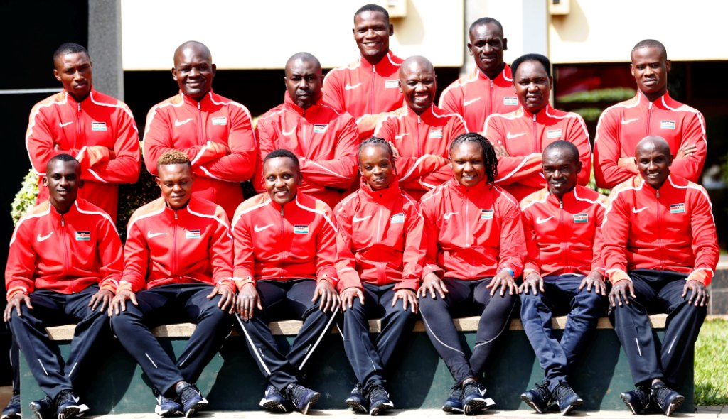 The Team Kenya boxing contingent at camp -- Moi International Sports Centre, Kasarani -- before leaving for Rabat for the 12 African Games. Kenya has not won a Gold medal since Ibrahim 'Surf' Bilali Wachira in Abuja (2003). Photo/MOHAMMED AMIN