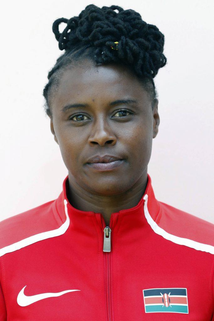 Esther Kayume Ikiugu - women's 63kg. Photo/MOHAMMED AMIN