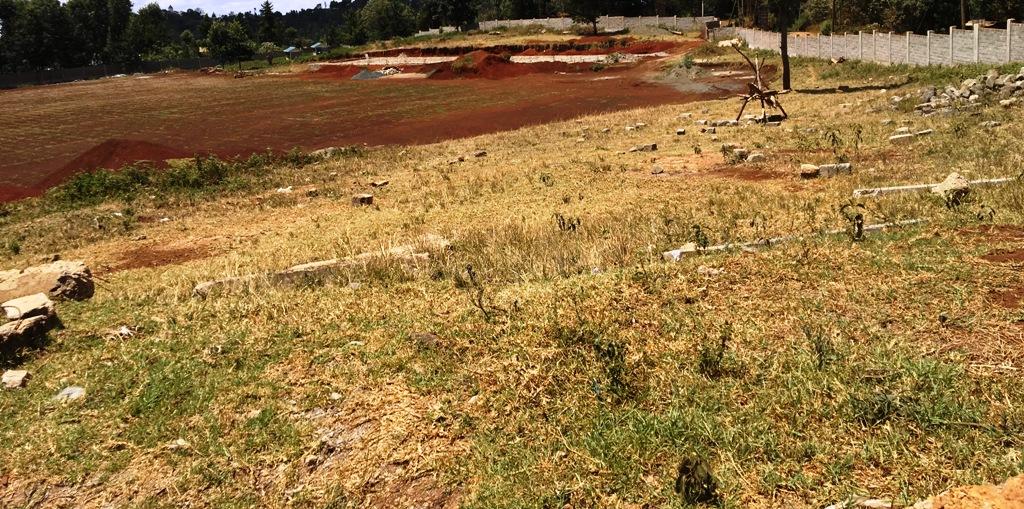 The little progress made in the stalled project of Karat Stadium, in President Uhuru Kenyatta's Gatundu South backyard, Kiambu County