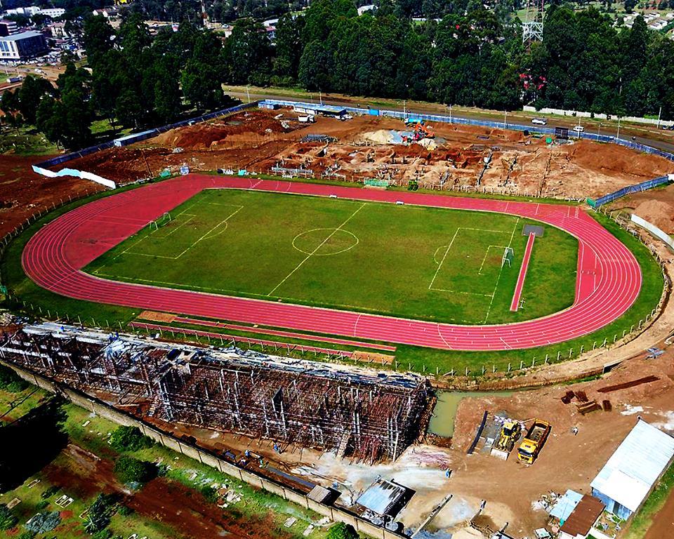 Incomplete, unusable Kipchoge Keino Stadium in Eldoret