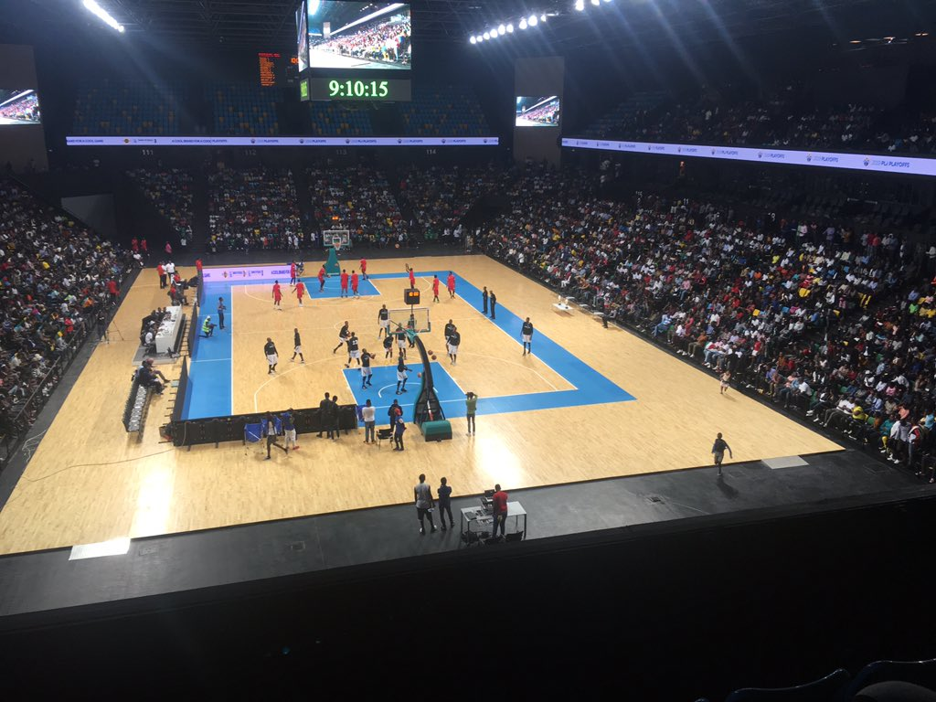 The Kigali Arena in Rwanda where the inaugurl Basketball Africa League Final Four and Final matches will be played in 2020