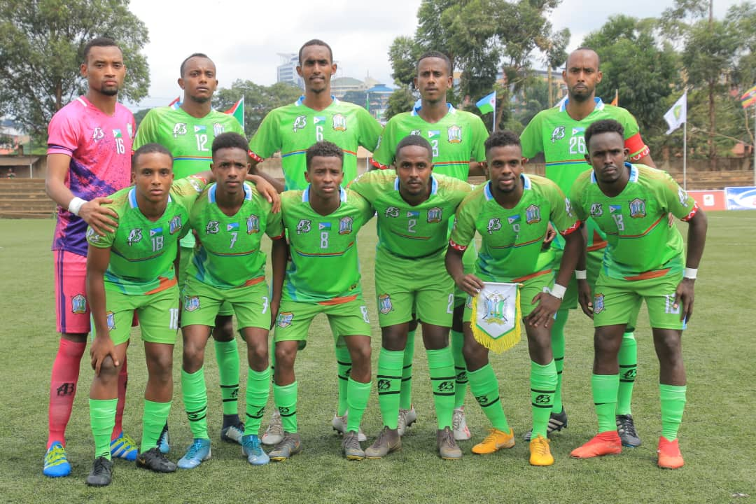 Djibouti: Fought out 0-0 draw with Somalia