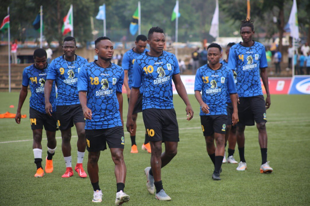 Kilimanjaro Stars step out at Lugogo for the warm-up on Sunday, coming up against Kenya's Harambee in less than 10 minutes