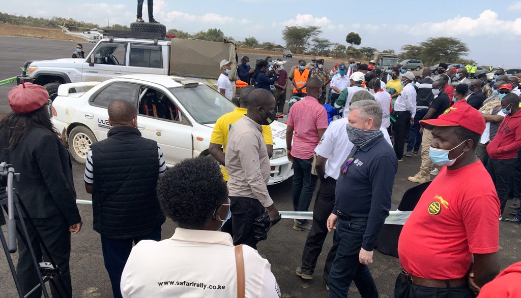 Service Park demonstration, Naivasha on Wednesday