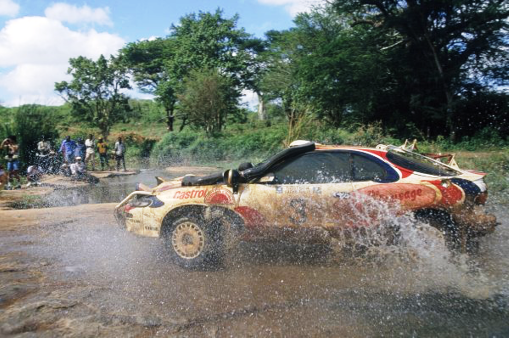 Home-brewed Toyota … Ian Duncan, WRC Safari winner 1995 started out driving locally assembled Toyota panel van