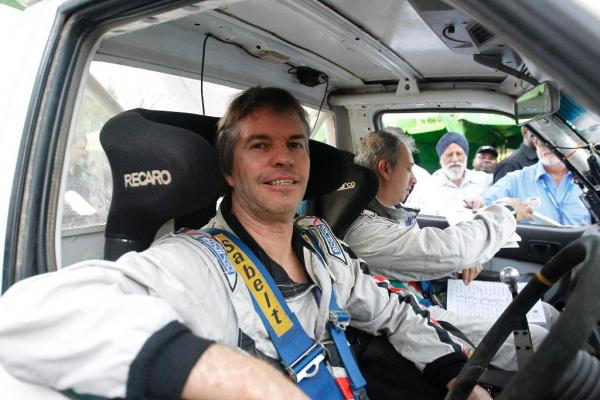Ian Duncan, made his Safari Rally debut as a youngster, driving standard cars including panel vans and small pick-up trucks