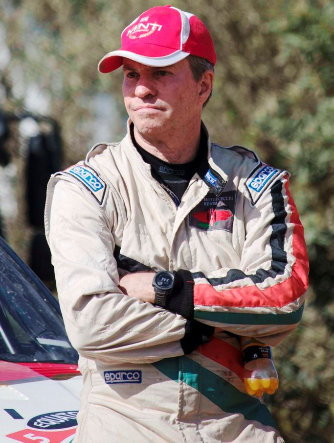 Ian Duncan ... at end of Day One, his Nissan 240RS would not start. Ended up 14th. Picture/ALVIN KIBET